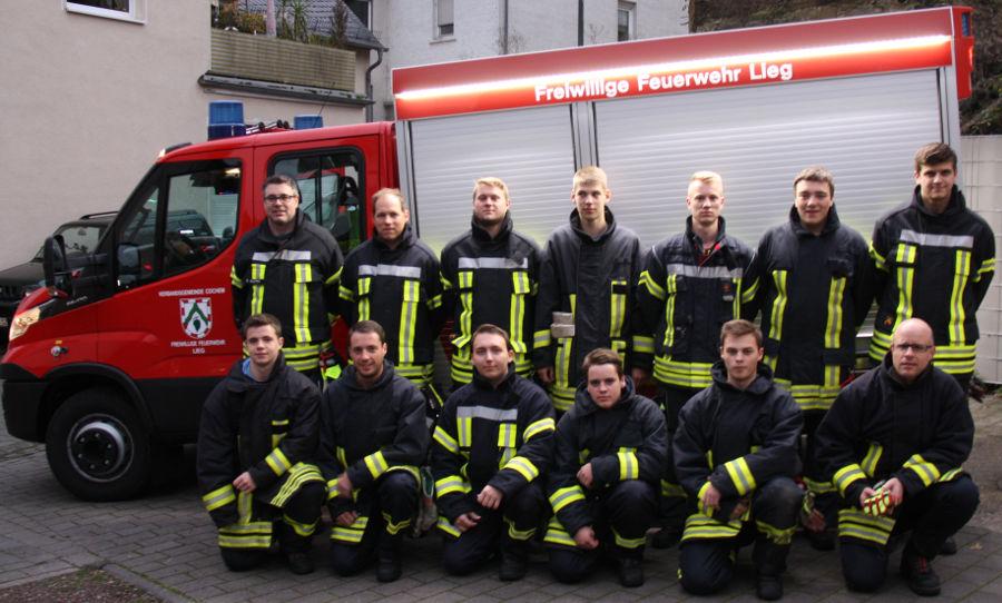 Aktive Mannschaft der Freiwilligen Feuerwehr Lieg