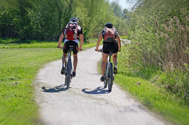 Radfahren Lieg