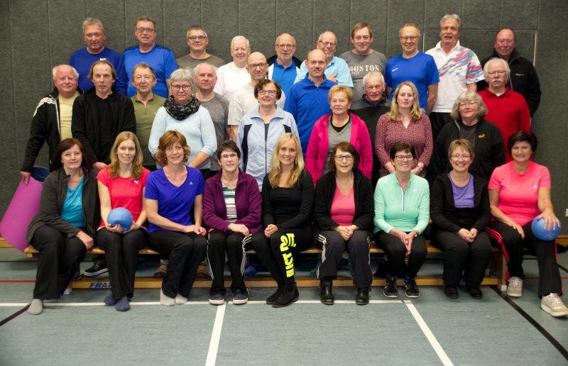 Sportverein Gruppenfoto