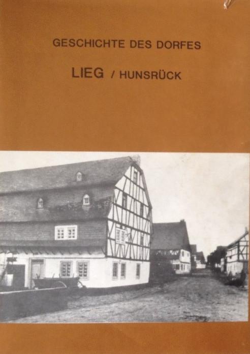 Alte Chronik der Ortsgemeinde Lieg